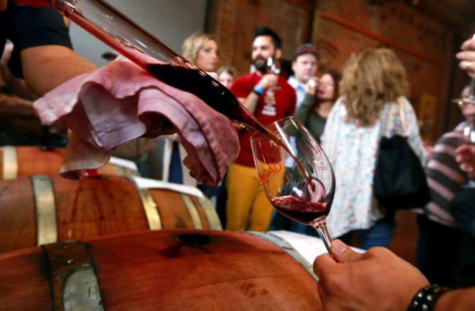 Barrel Tasting Event
