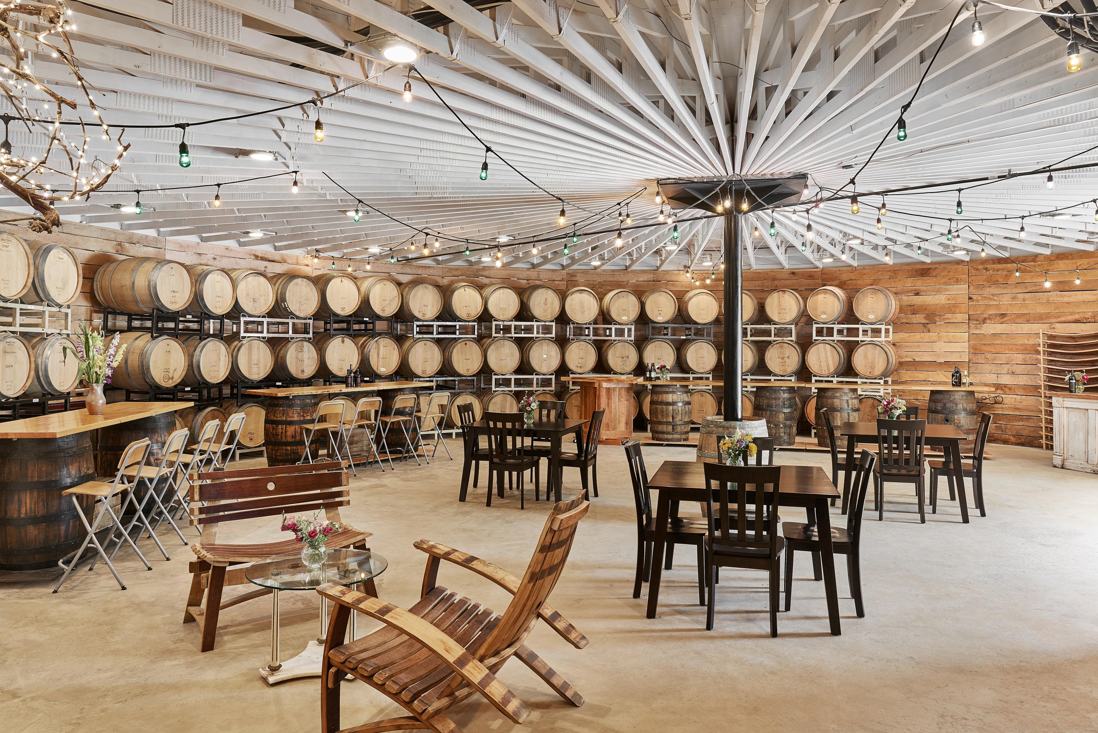 meaux - barrel room